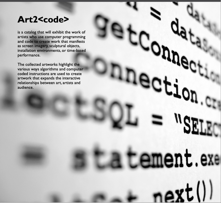 Art 2 Code Catalogue